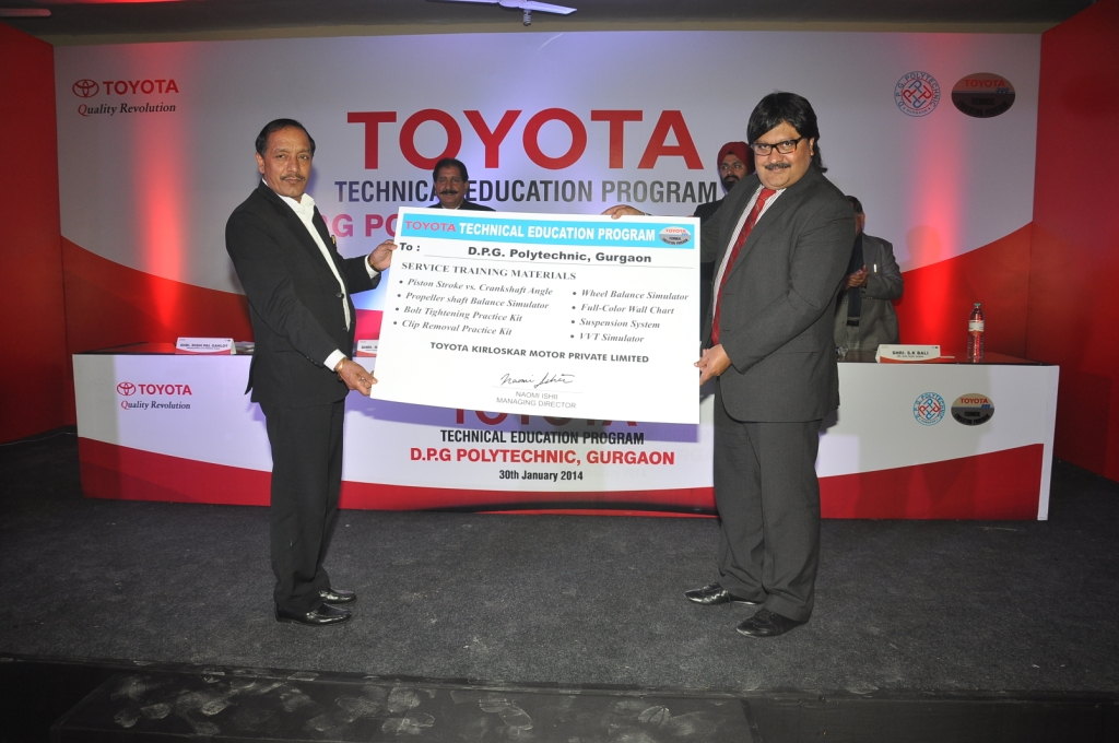 Toyota Begins a New Technical Education Program - Youth