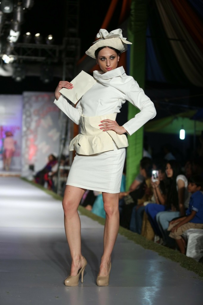 sparkling fashion show concluded fashionista fashion