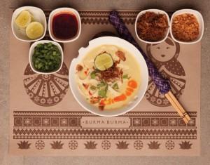 Burma Burma Food shot Oh No Khow Suey