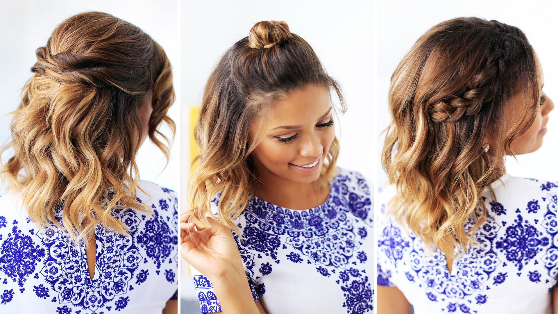Hairstyles which can be done within 5 minutes