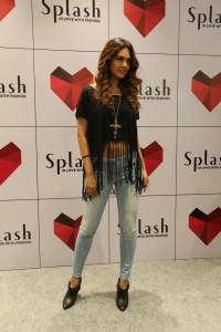 Esha Gupta - Brand Ambassador of Splash at the launch of its latest store launch at Malad, Mumbai