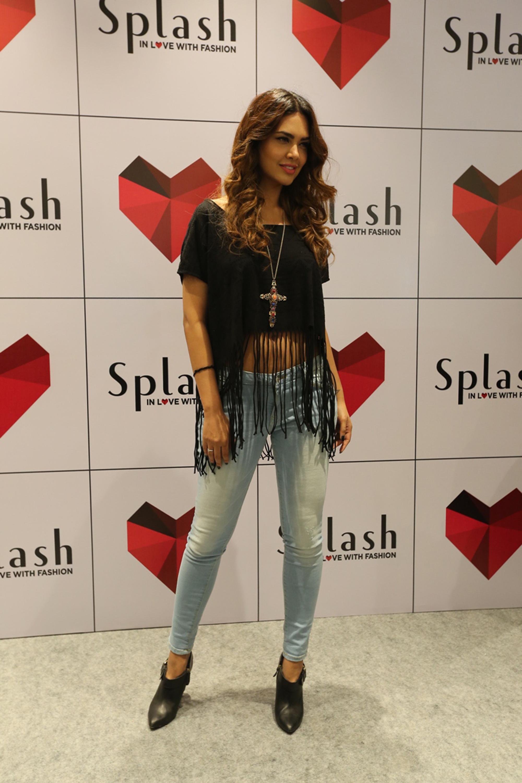 04207fd30 Esha Gupta - Brand Ambassador of Splash at the launch of its latest store  launch at