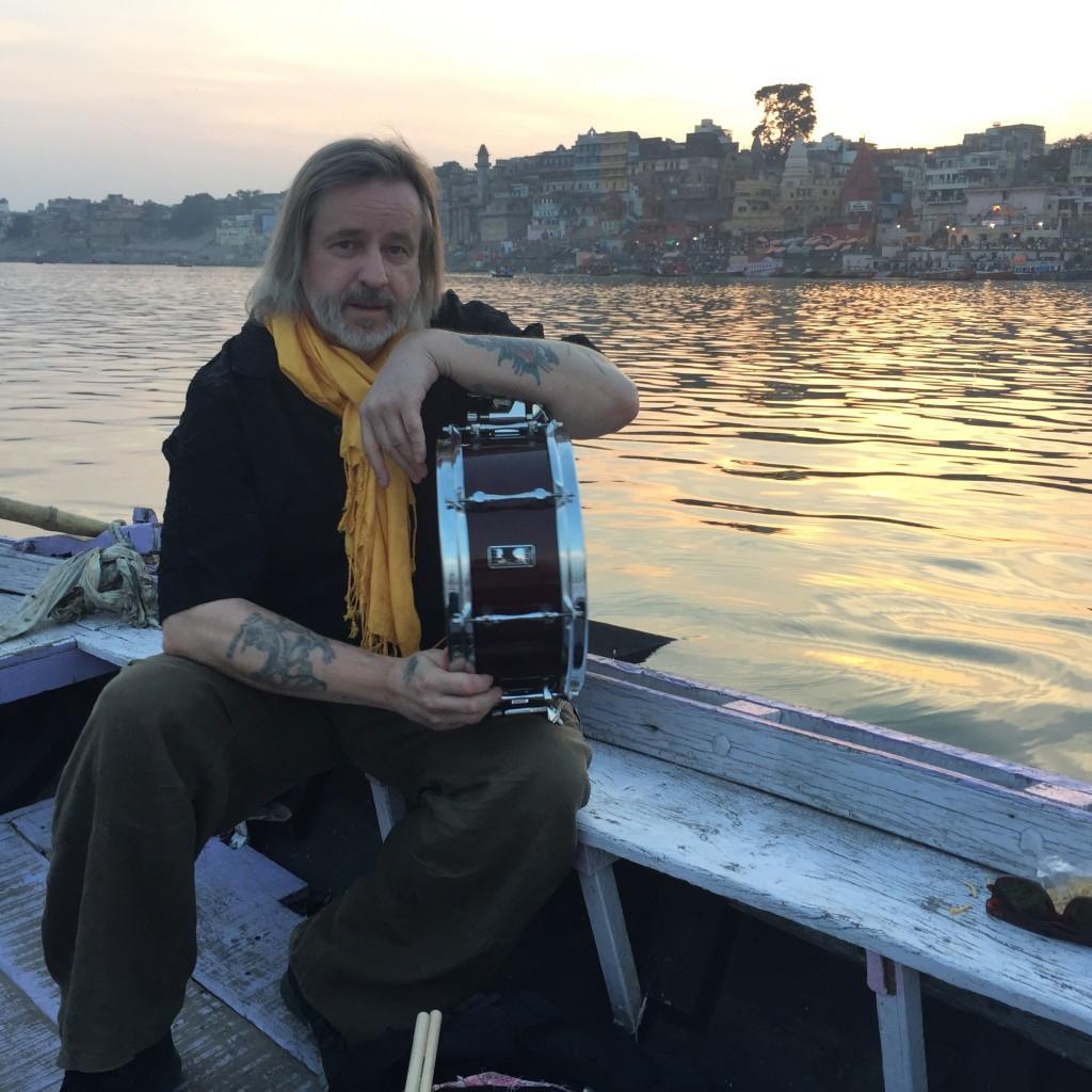 Pete Lockett in Varanasi