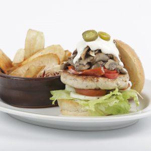 Grilled Chicken Burger (1)