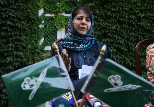 Mehbooba Mufti – First Women Chief Minister of J&K