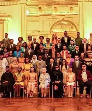 The two Indians are Kartik Sawhney (21) and Neha Swain (28) were felicitated for their exemplary work by Queen Elizabeth at the Buckingham Palace.