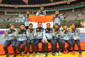 India wins 9 medals at the Asian Wushu championship