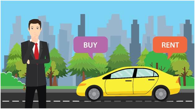 Image result for rent vs own car