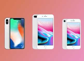iPhone 8, 8 Plus & iPhone X