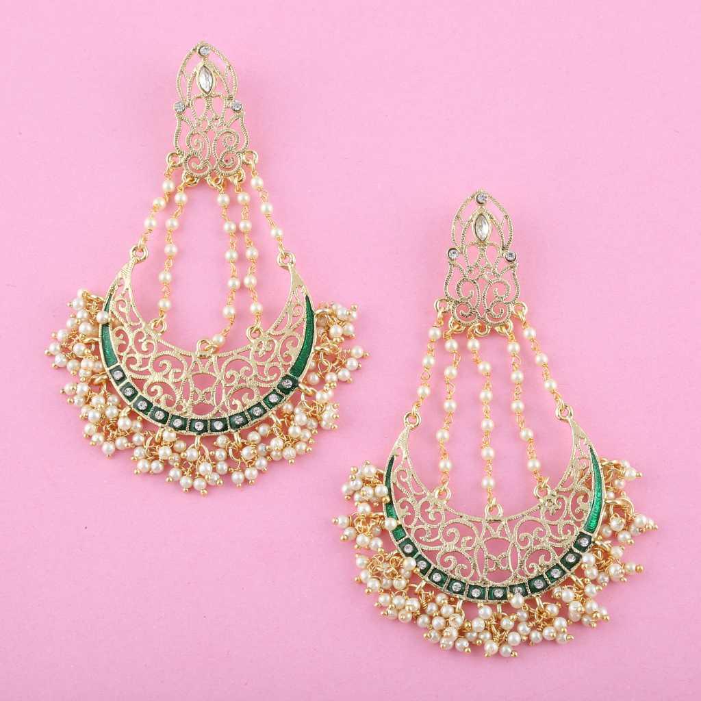 earring - diwali look