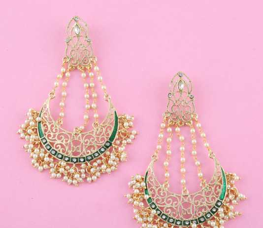 earring - diwali look