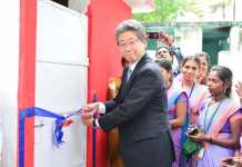 MUFG and FICCI open new sanitation facilities in more than 100 schools
