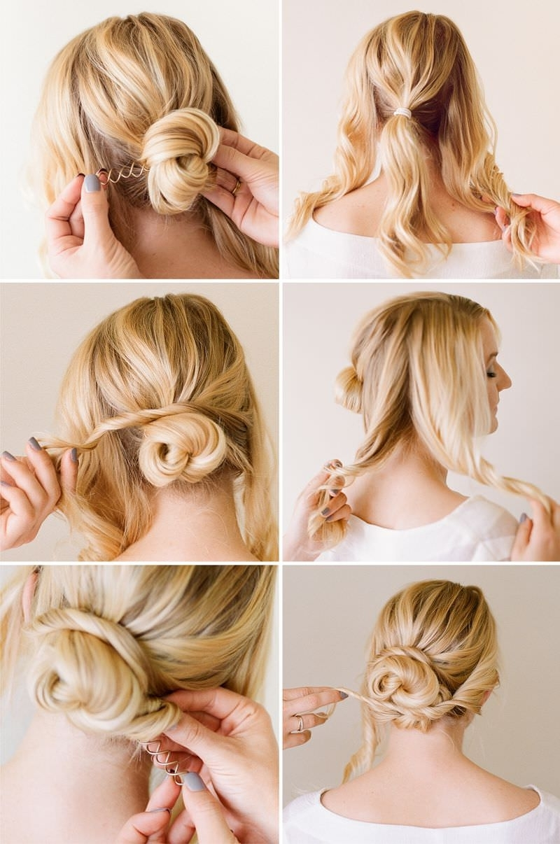 Superb Messy Bun Hairstyles For Short Hair Step By Step Deceptive Bun Hairstyles  10 Easier Than They Look Buns