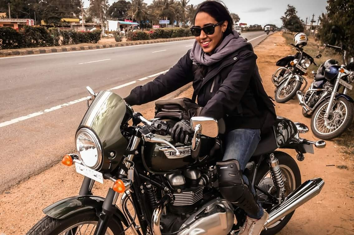 Her Solo Enfield Trip