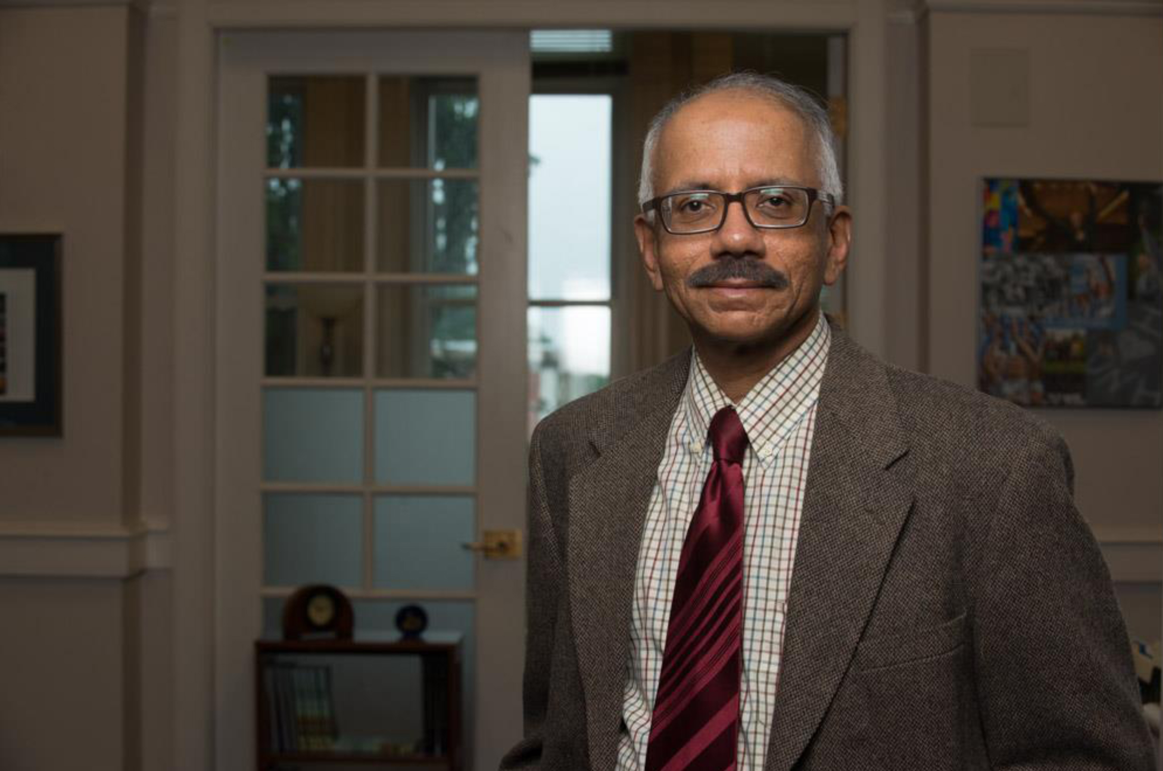 Dr. Vasudevan, Vice President for Academic Affairs at the University of New Hampshire