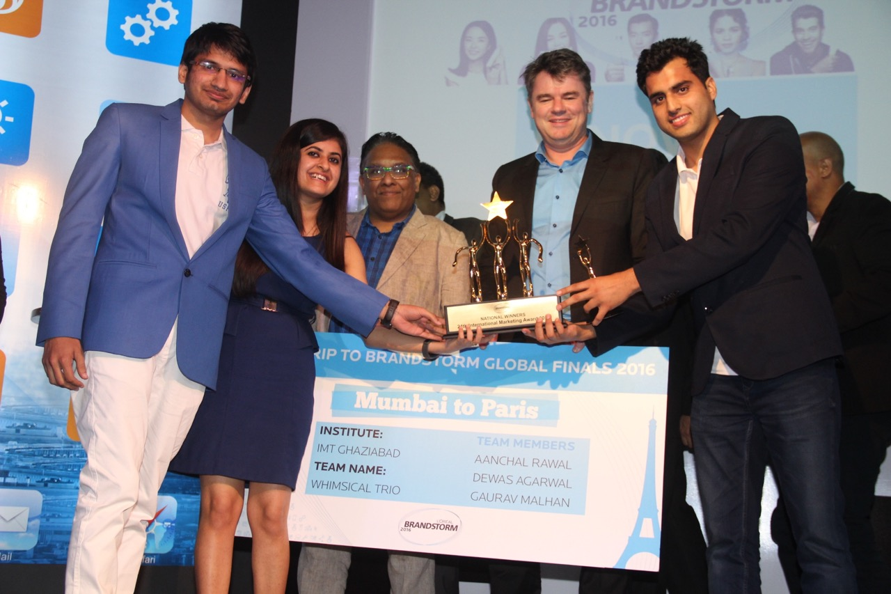 IMT Ghaziabad team wins L'Oreal Brandstorm 2016- India finals