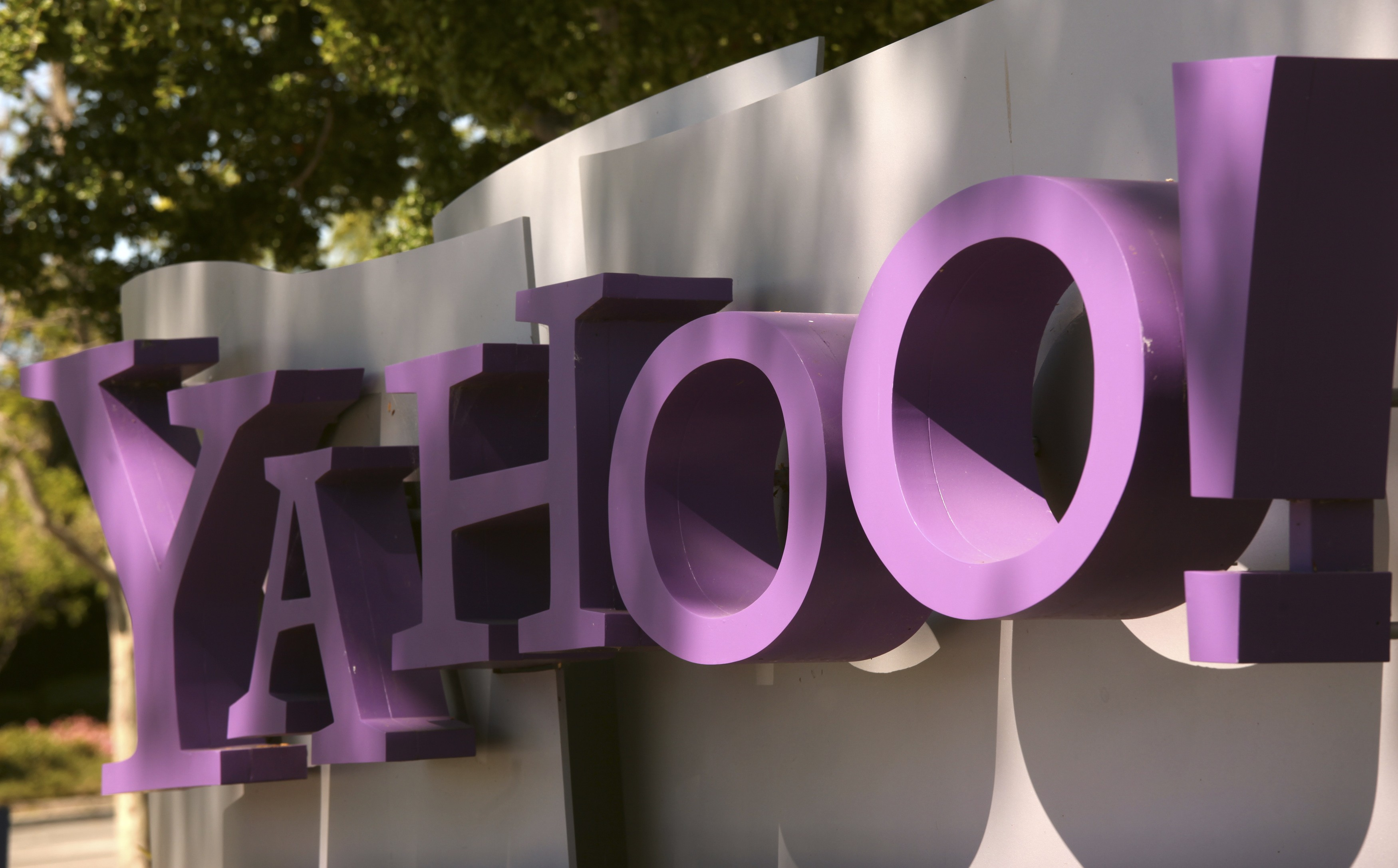 The Yahoo logo