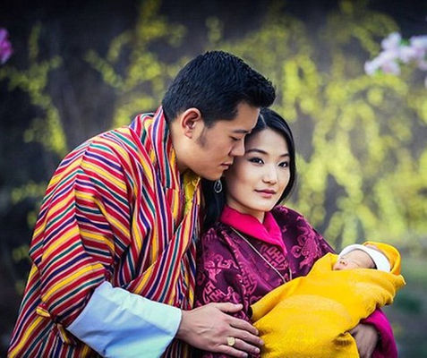 Bhutan plants happiness trees to honour newborn prince