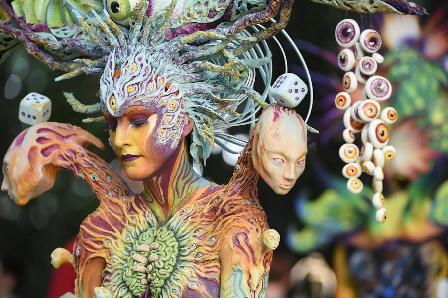 Highlights From The World Bodypainting Festival