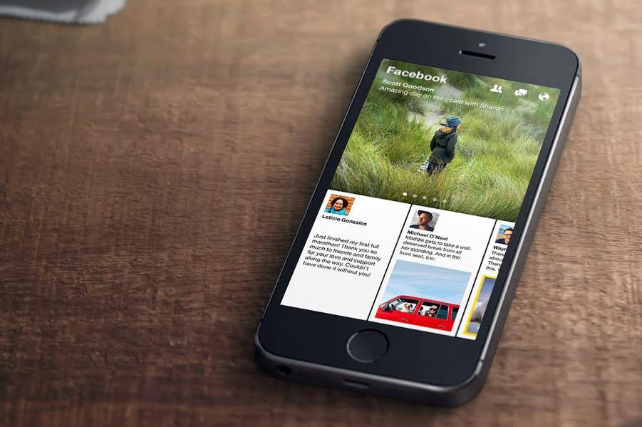 facebook news reading app