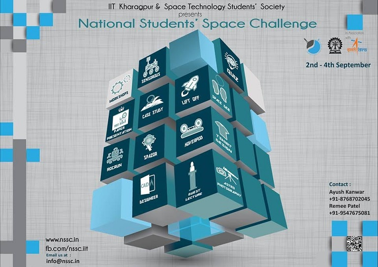 NATIONAL STUDENTS' SPACE CHALLENGE (NSSC) 2016, IIT KHARAGPUR