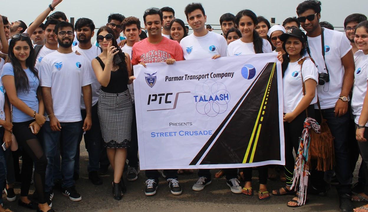 Talaash Team Jai hind College