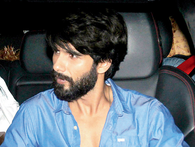 Shahid Kapoor with beard