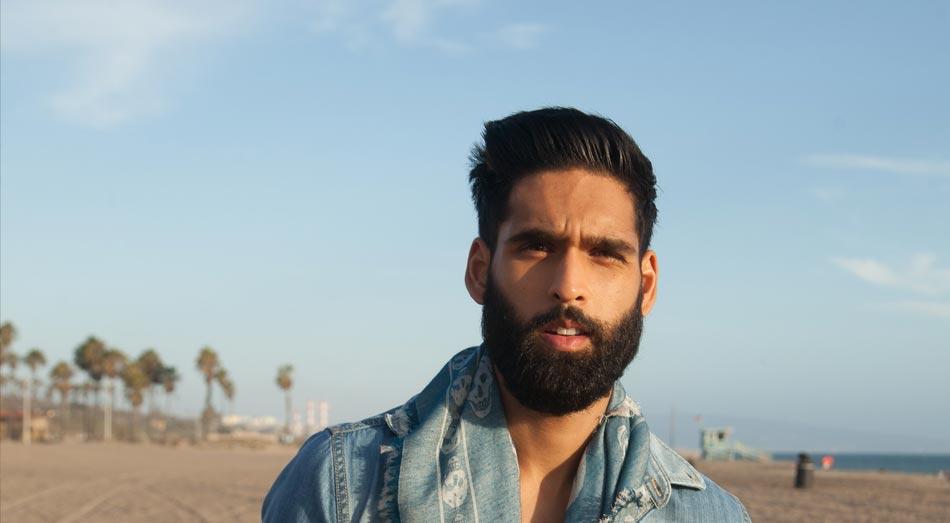 Siddharta Mallya with beard
