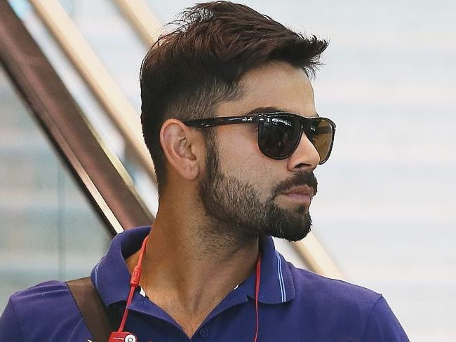 Virat Kohli with beard