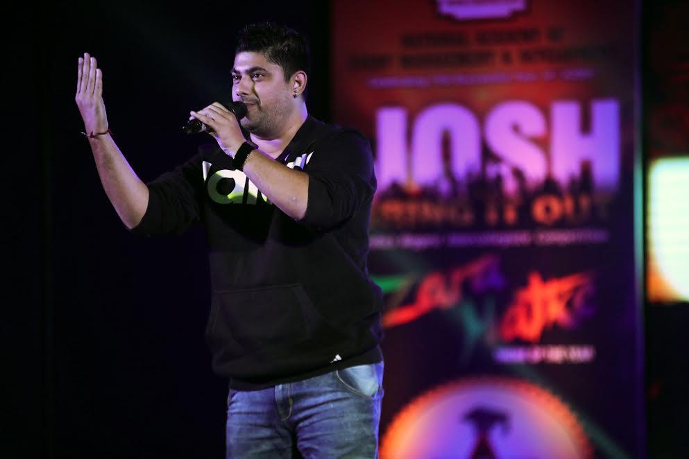 Rodney Fernandes performing live at JOSH 2016