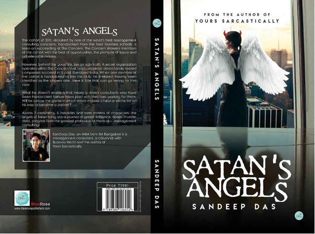 Interview With Sandeep Das Management Consultant And Author Of Satan S Angels