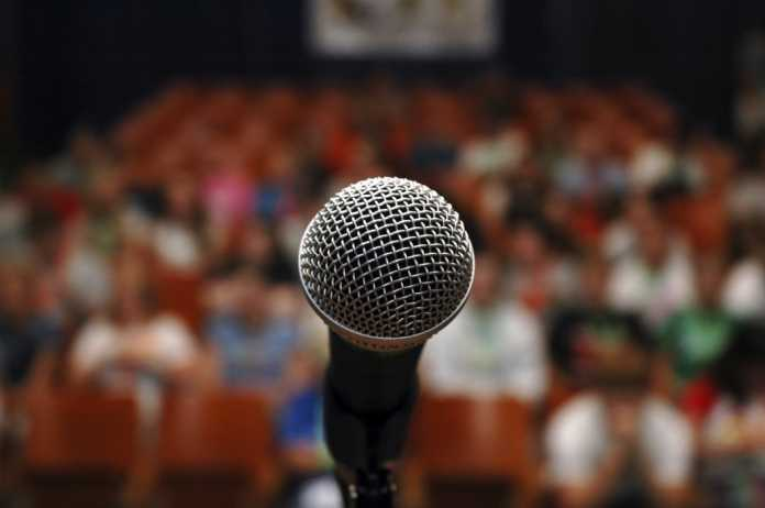 Stage fright - public speaking