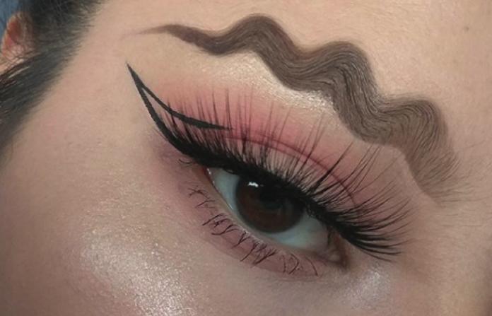 Bizarre makeup trends
