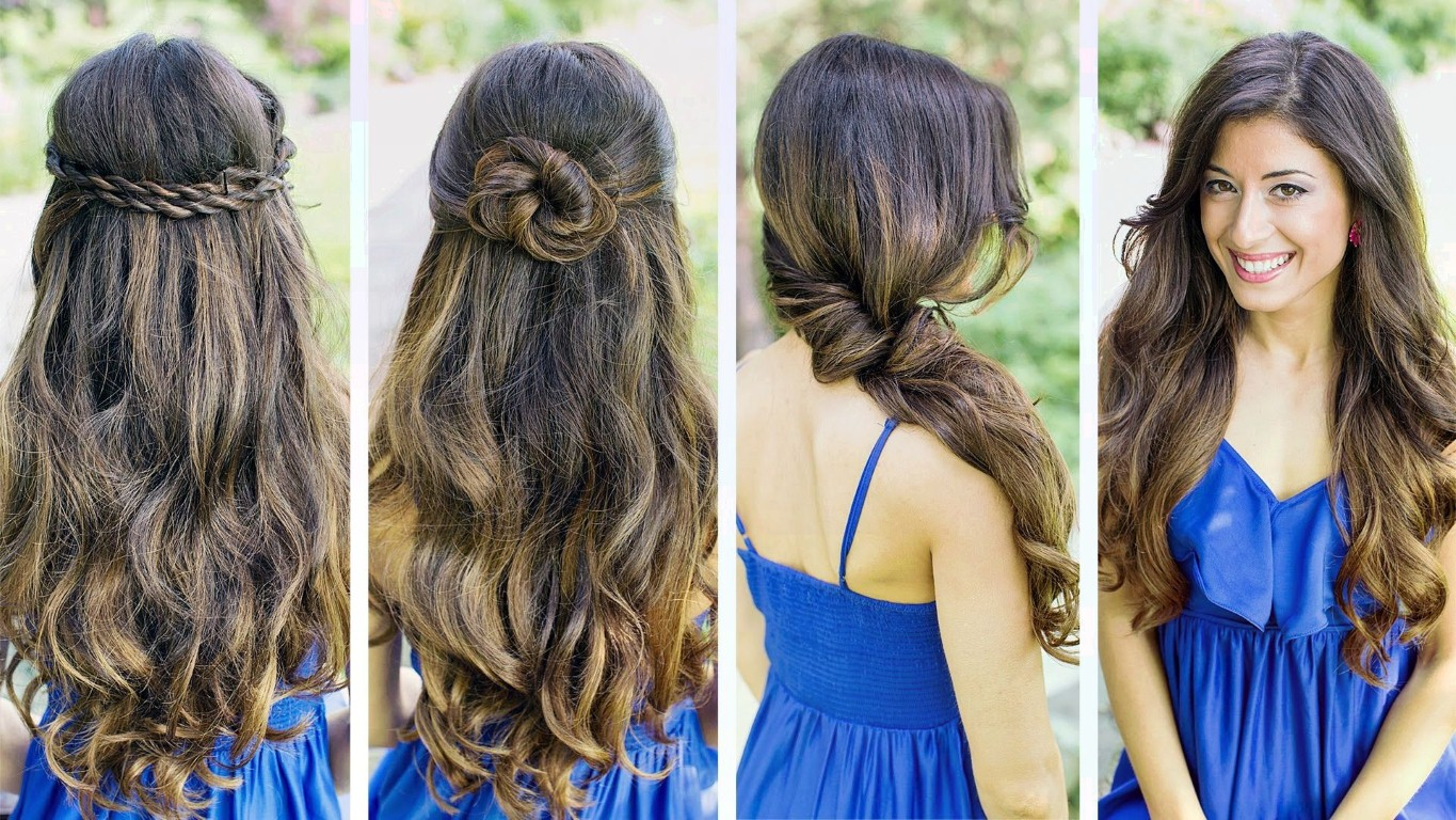 5 Quick And Easy Hairstyles For Girls On The Go Youth