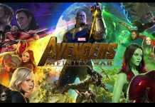 avengers infinity war poster art