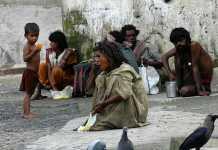 poverty-stricken