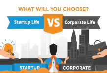 Startup Job vs. Corporate Life