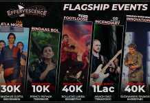 Flagship Events - Effervescence