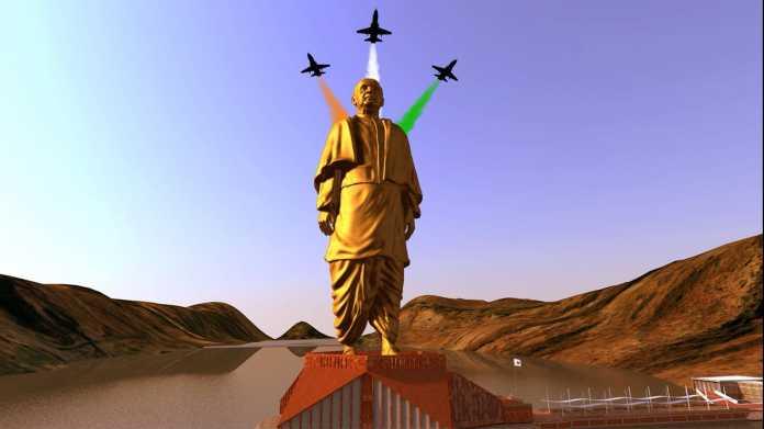 Statue of Unity of Sardar Vallabhbhai Patel