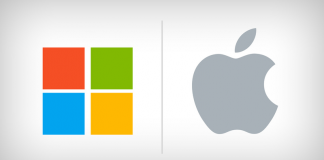 microsoft and apple