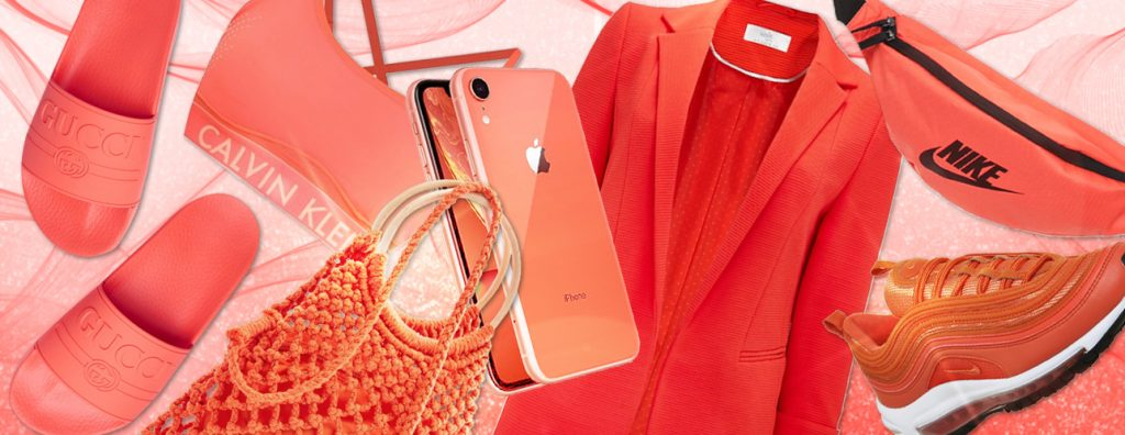 colour of the year living coral