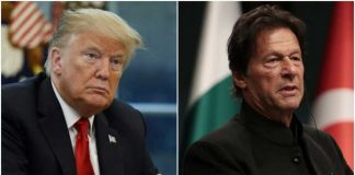 imran khan meet Donald Trump