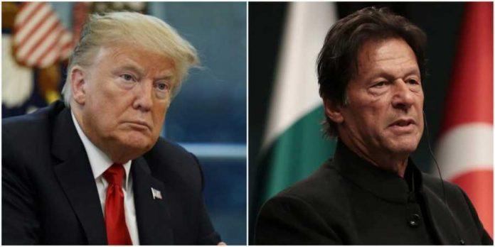 imran khan meet Donald Trump