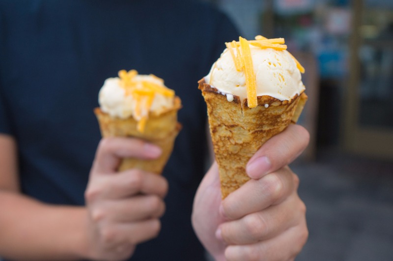 bizarre ice cream