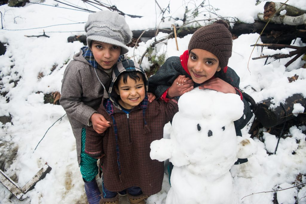 Kashmir in winters