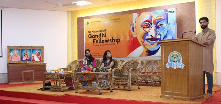 Gandhi Fellowship