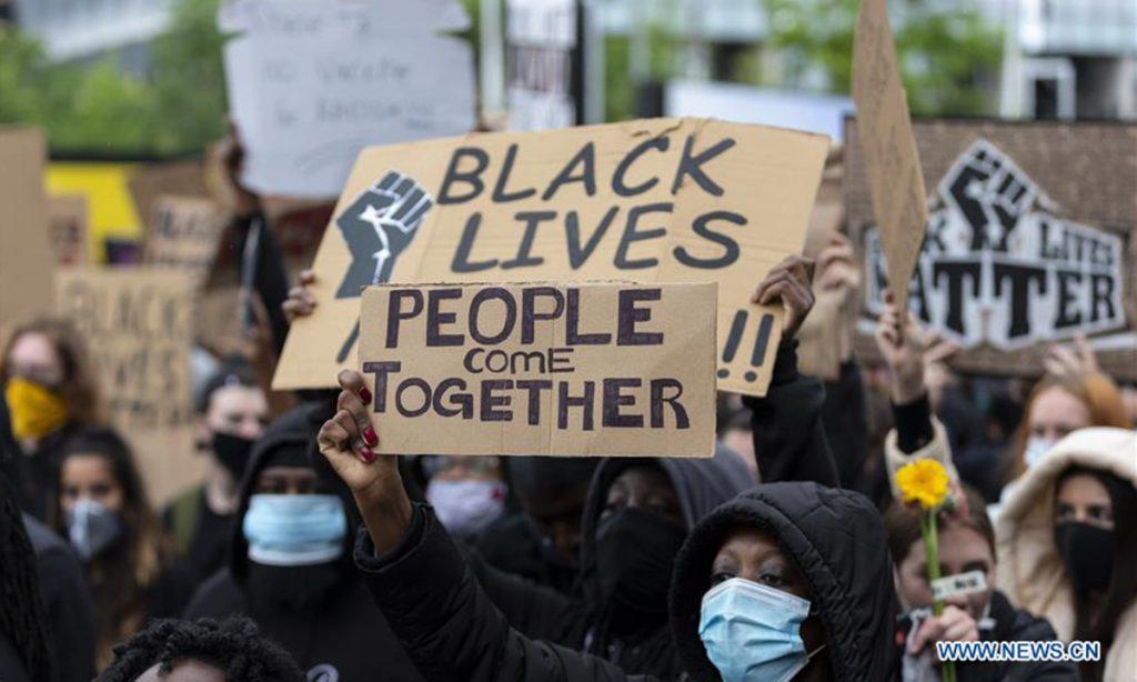 black lives matter, HRD Minister