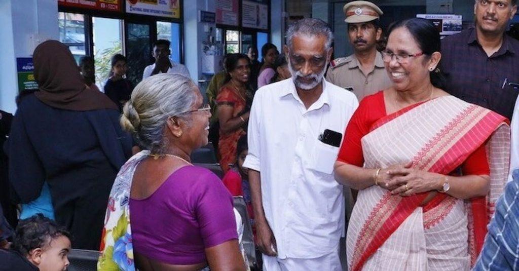 Kerala Health Minister, Haryana