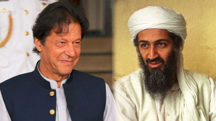 Imran Khan, Osama Bin Laden