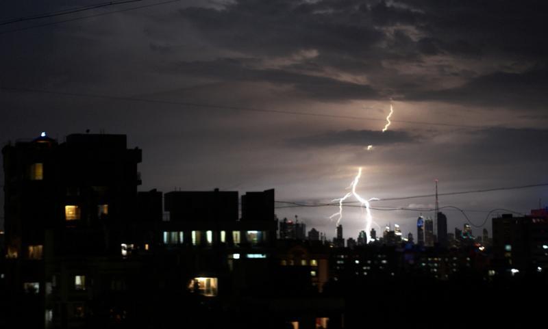 CRPF, Thunderstorm, Bihar